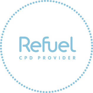REFUEL CPD Provider Badge Blue