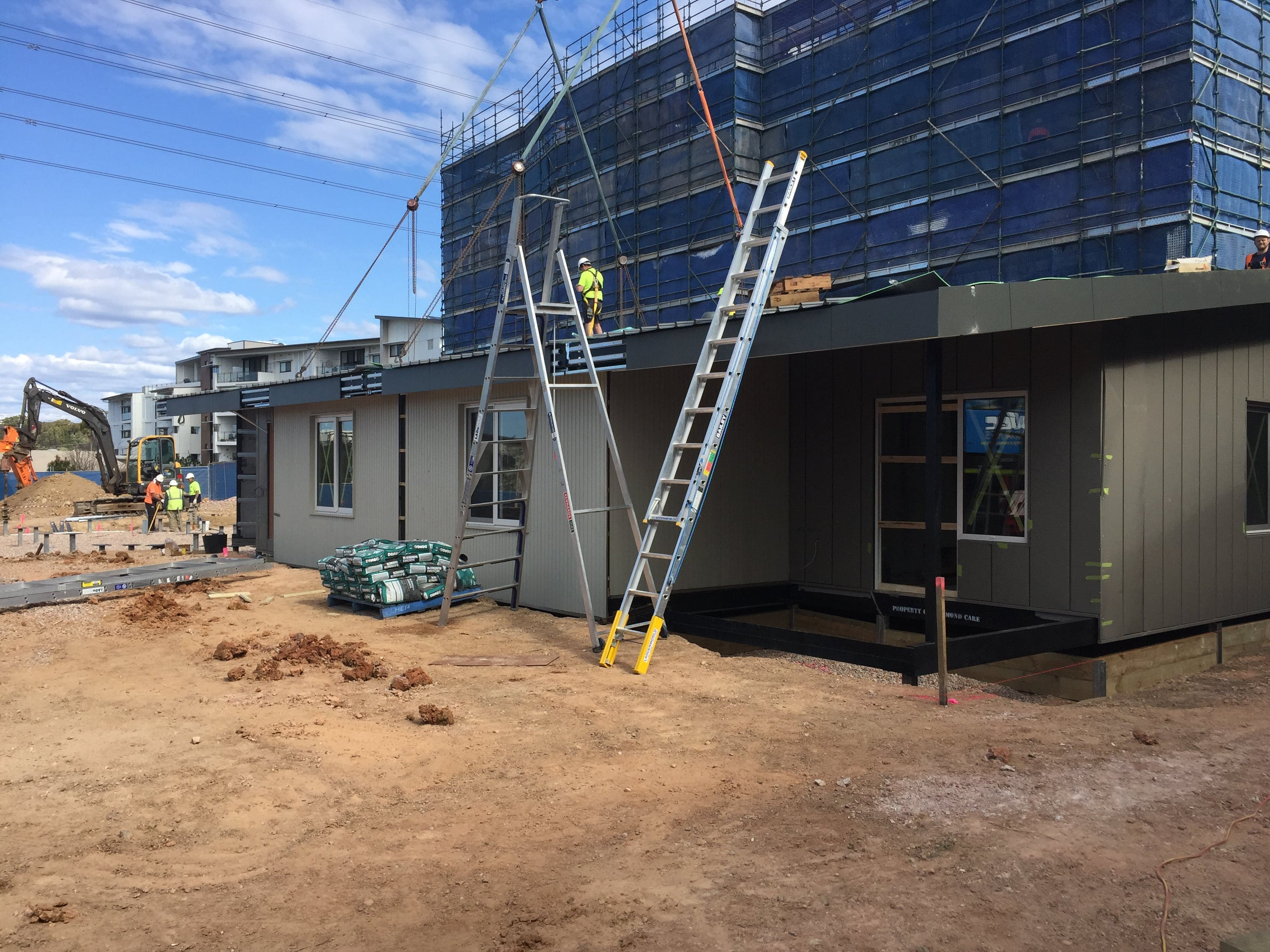 Respite Care Cottage Installation process in Miranda