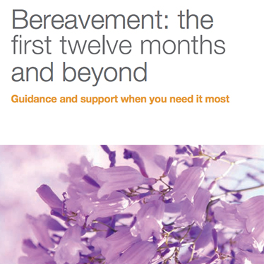 bereavement the first twelve months and beyond