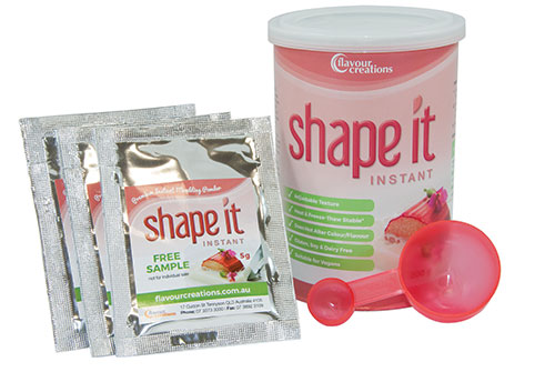 Shape It Can and Sachets 500