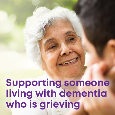 Supporting someone living with dementia